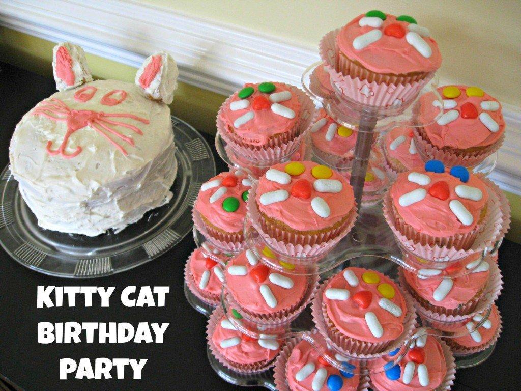 Kitten Party Cake