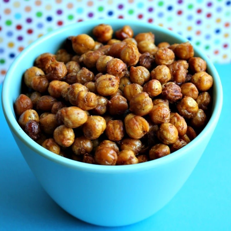 Roasted Spiced Chickpeas Recipe — Dishmaps