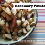 Rosemary Potatoes {Breakfast for Dinner}