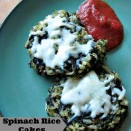 Spinach Rice Cakes
