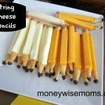 String Cheese Pencils