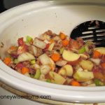 Leftovers Soup in the Crockpot