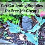 Get Gardening Supplies for Free (or Cheap)