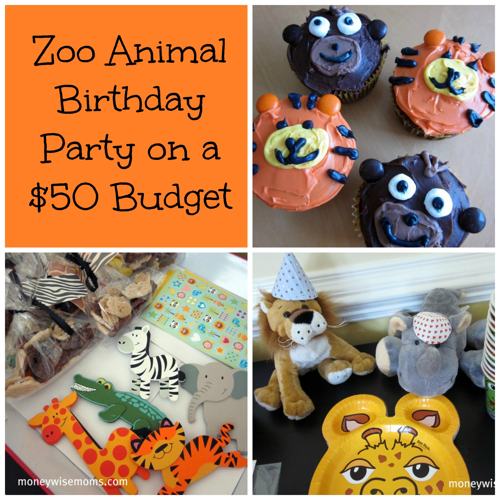 Decorating Ideas > Zoo Animal Birthday Party  Moneywise Moms ~ 200332_Birthday Party Ideas Zoo Animals