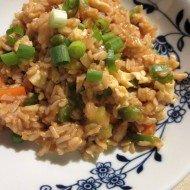 Simple Vegetable Fried Rice