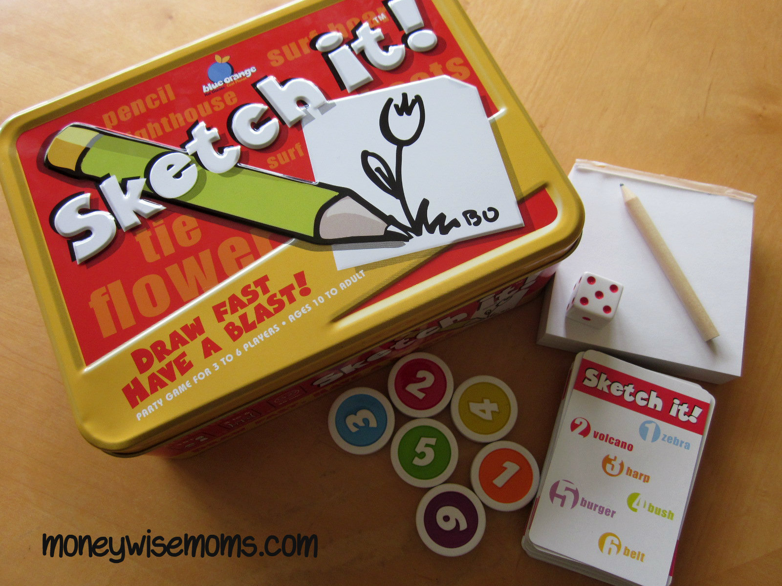 Sketch It | Game Night with Blue Orange Games | MoneywiseMoms