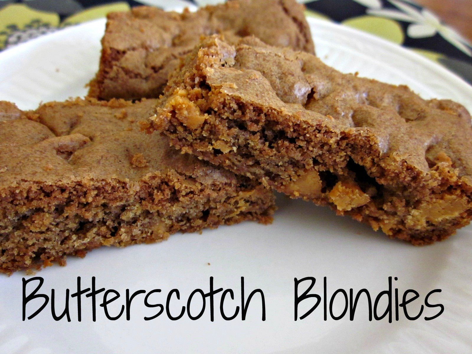 Butterscotch Blondies - Moneywise Moms