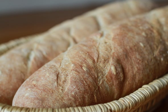 Easy Homemade French Bread from The Frugal Girl