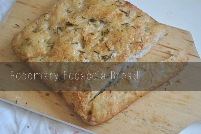 Rosemary Focaccia Bread from Wishful Winking