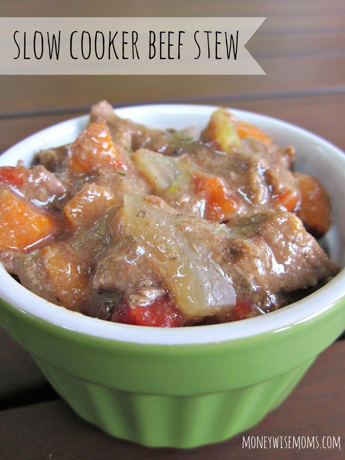Slow Cooker Beef Stew | A simple recipe for beginner cooks to make a ...