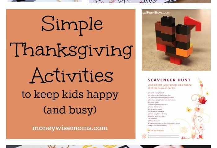 Simple Thanksgiving Activities to Keep Kids Happy (and Busy)