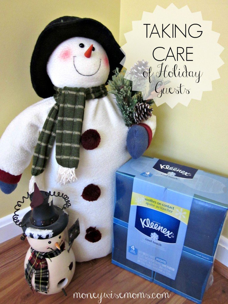 Taking Care of Holiday Guests | #KleenexTarget #PMedia