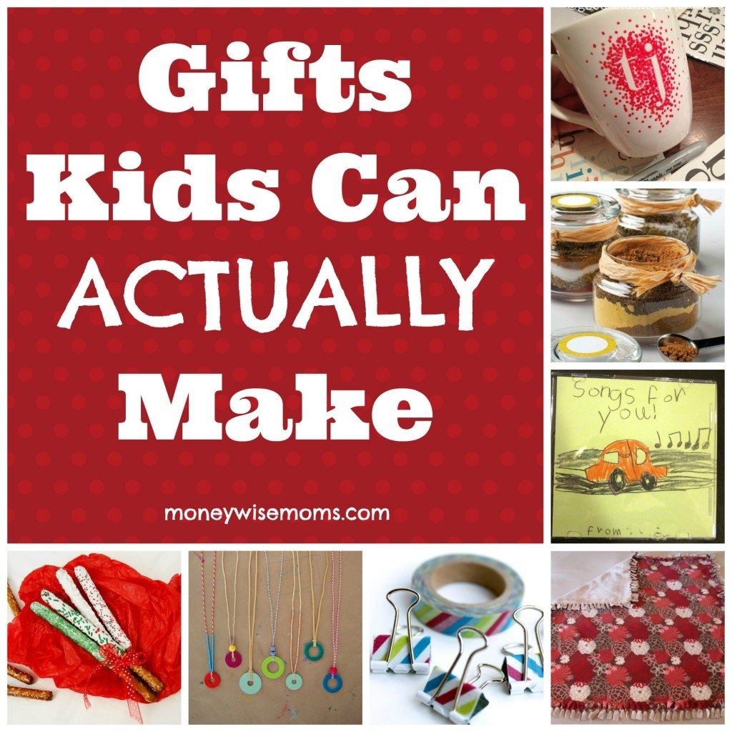 Gifts Kids Can Actually Make | MoneywiseMoms