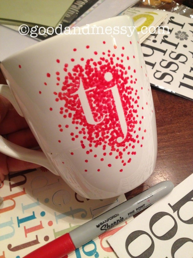 Gifts Kids Can Actually Make | Sharpie Mug ia @goodandmessy
