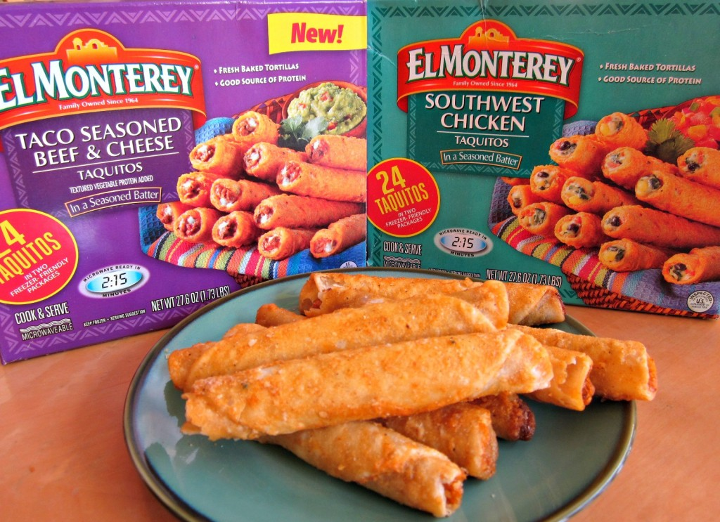 El Monterey Taquitos are perfect for Game Day | MoneywiseMoms