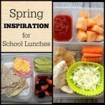 Spring Inspiration for School Lunches