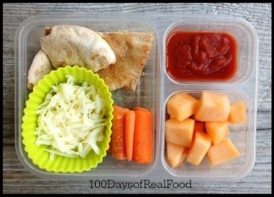 School Lunch Roundup at 100DaysofRealFood | Spring inspiration for school lunches | MoneywiseMoms