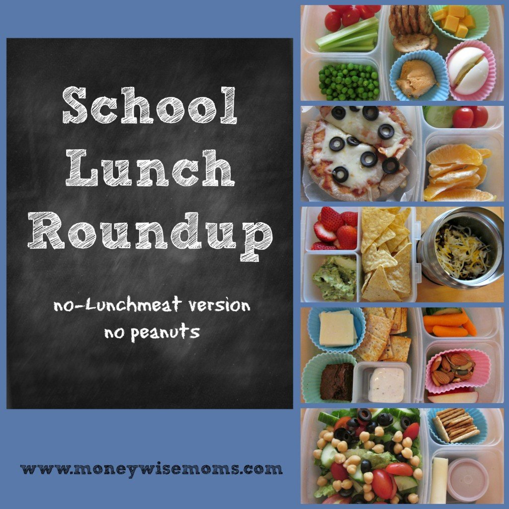 School Lunch Roundup | no lunchmeat #realfood | MoneywiseMoms