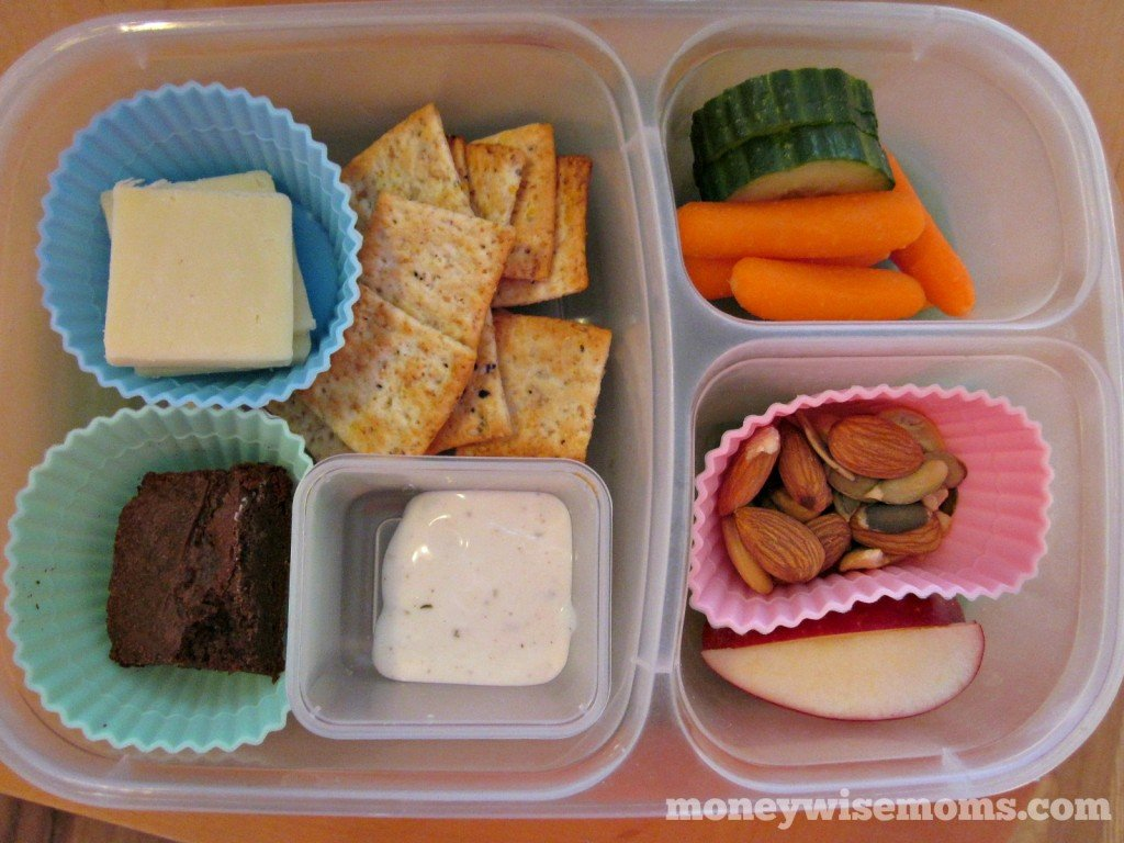 Snacky Lunch | School Lunch Roundup #realfood | MoneywiseMoms