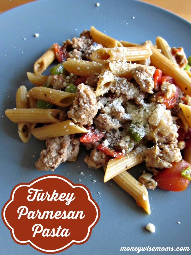 Turkey parmesan pasta easy stovetop meal moneywise moms turkey parmesan pasta easy stovetop recipe for family dinner moneywisemoms forumfinder Image collections