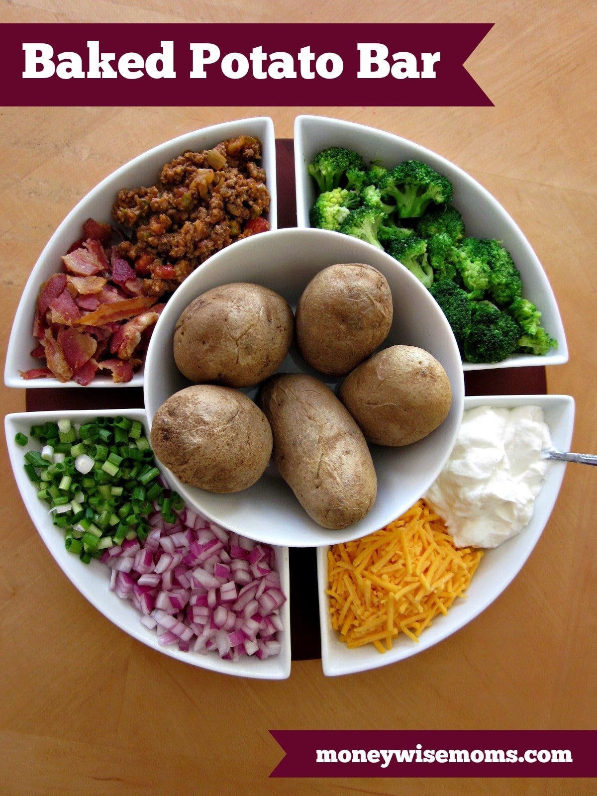 Baked Potato Bar | perfect for parties, potlucks and family reunions ...