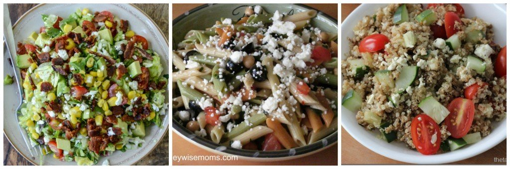 Cold Salads help you get dinner on the table fast | MoneywiseMoms