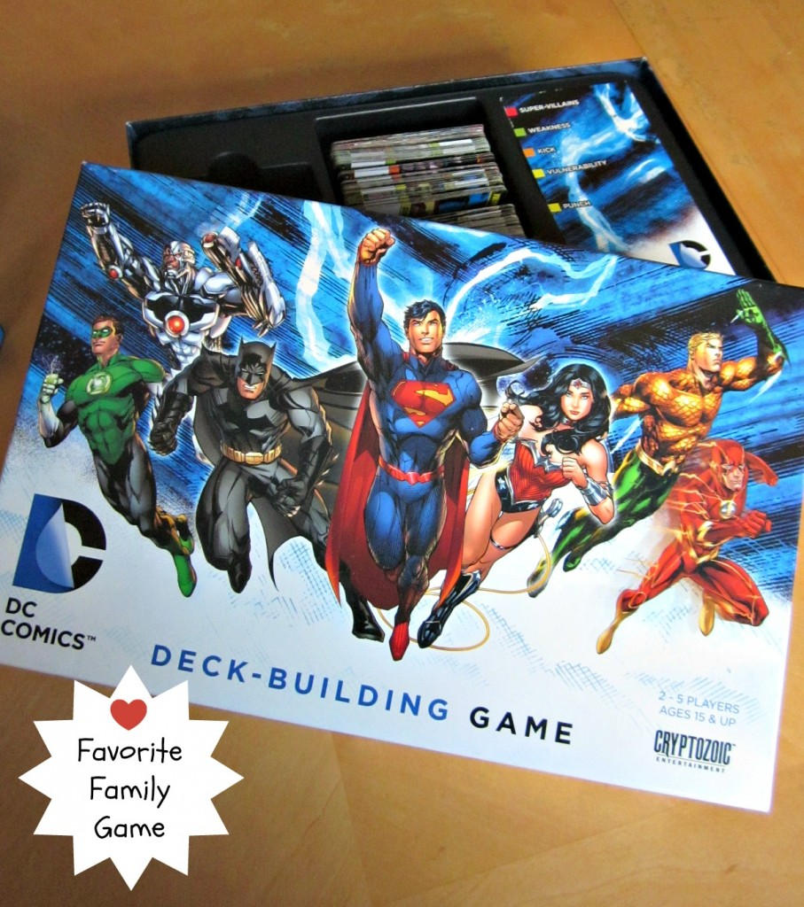 DC Deck Building Game | Favorite Family Game | MoneywiseMoms