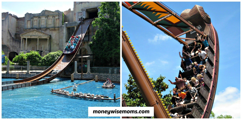 Rides At Busch Gardens Willamsburg #familytravel #buschgardens |  MoneywiseMoms