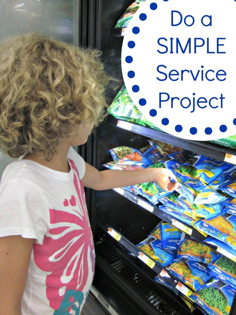Simple Service Project #SummerofGiving | MoneywiseMoms