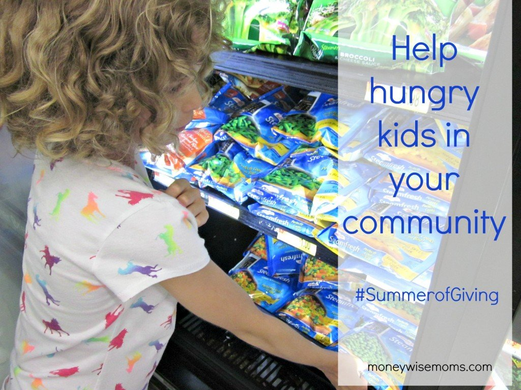 #SummerofGiving Project with Champions for Kids | MoneywiseMom