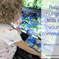 Summer of Giving Project – Help Hungry Kids in Your Community