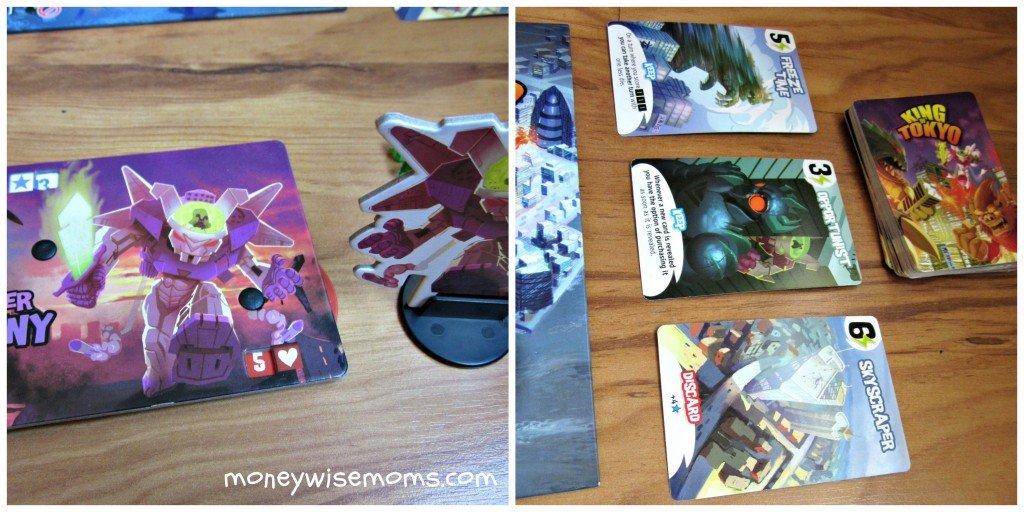 King of Tokyo - great family board game #frugalfun | MoneywiseMoms