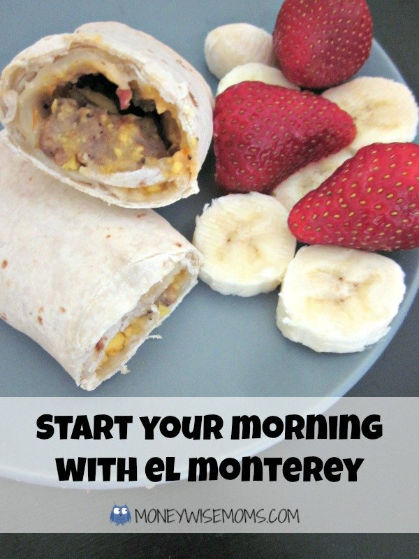 El Monterey Breakfast Burritos with Fruit | Morning Routine | MoneywiseMoms