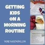 Getting Kids on a Morning Routine
