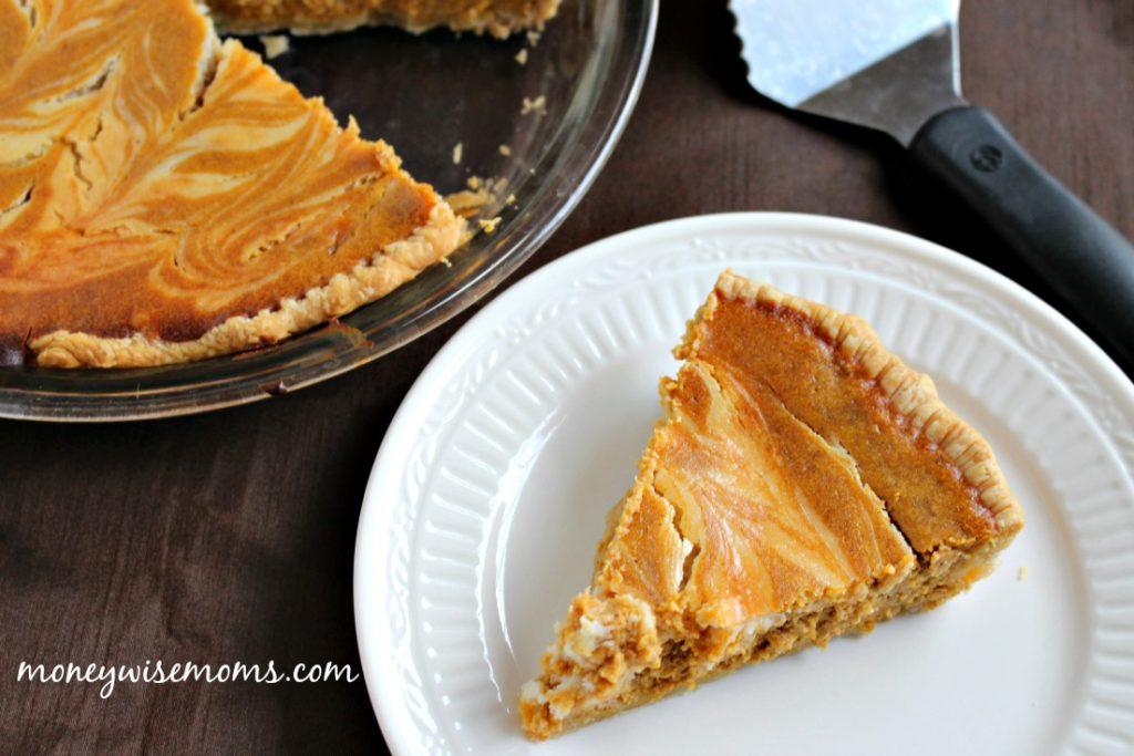 Pumpkin Swirl Pie