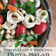 Tortellini Chickpea Pasta Salad