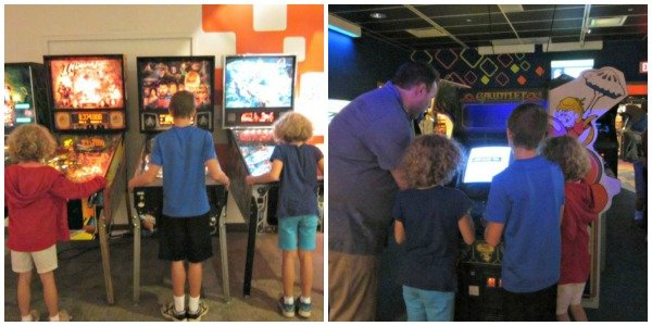 Arcade at Strong National Museum of Play #familytravel