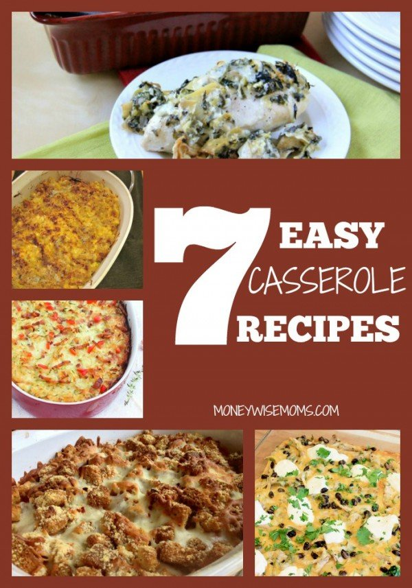 Easy Casserole Recipes | MoneywiseMoms