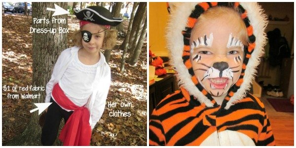 Use what you have | Ways to Save on Halloween Costumes | MoneywiseMoms