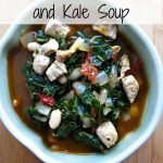 Pork, White Bean & Kale Soup {Smithfield Marinated Pork}