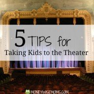Taking Kids to the Theater (and DC Giveaway!)