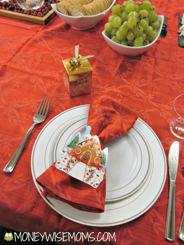 Holiday Table Setting | BJs Wholesale Club for the Holidays and GC Giveaway | MoneywiseMoms