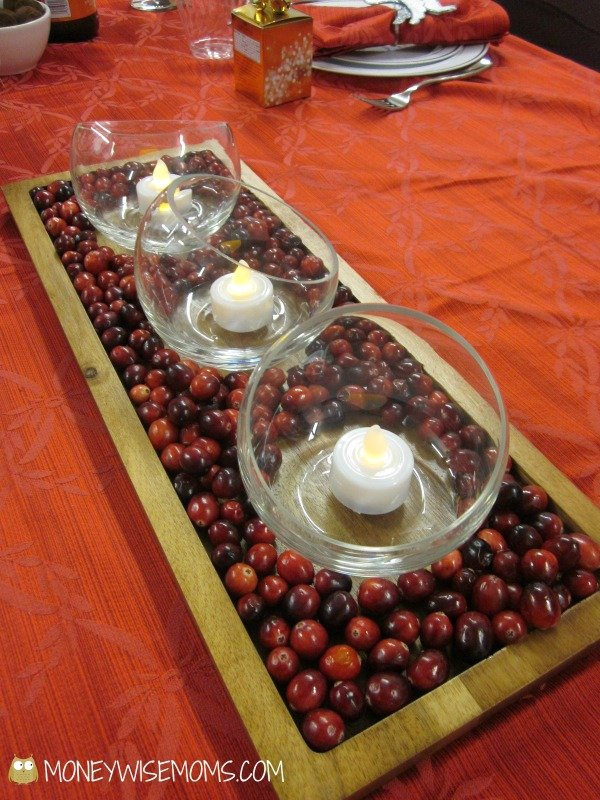 Holiday Table Centerpiece | BJs Wholesale Club for the Holidays and GC Giveaway | MoneywiseMoms