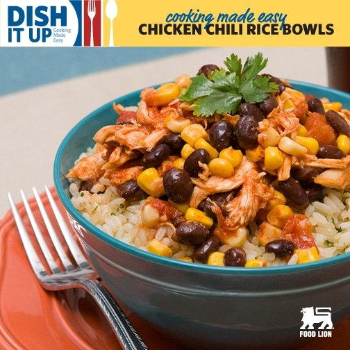 Chicken Chili Rice Bowls | MoneywiseMoms
