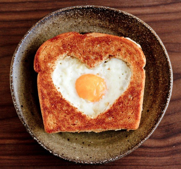 Valentines Day Egg in the Basket | Healthy Valentine Food for Kids | MoneywiseMoms