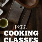 Free Cooking Classes for better home cooking   MoneywiseMoms