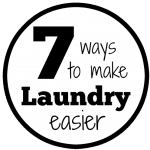 7 Ways to Make Laundry Easier