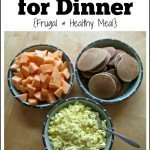 Breakfast for Dinner {Frugal & Healthy Meal}