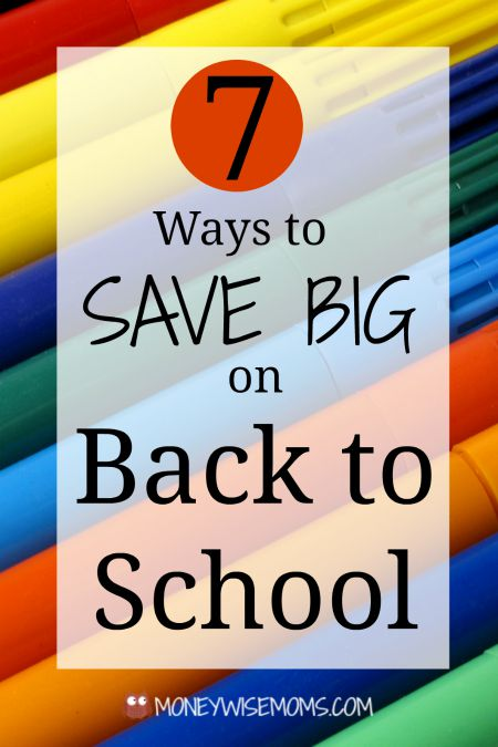 Ways to Save Big on Back to School