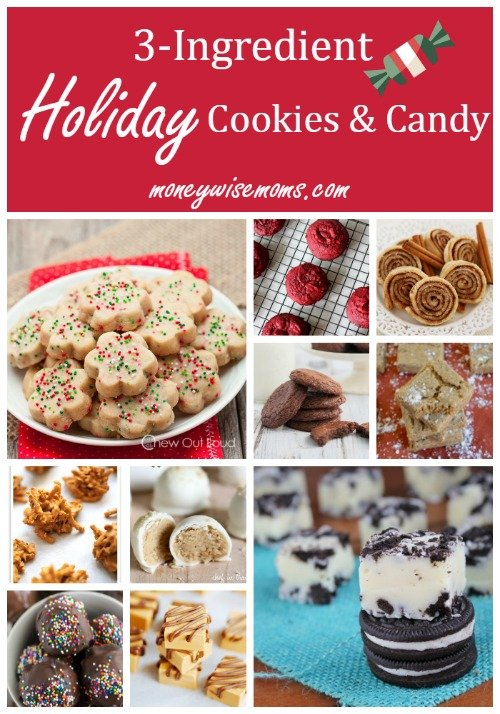 3-Ingredient Holiday Cookies and Candy | 15 easy recipes that let you enjoy the holiday spirit in less time!